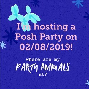 I'm hosting my first Posh Party!